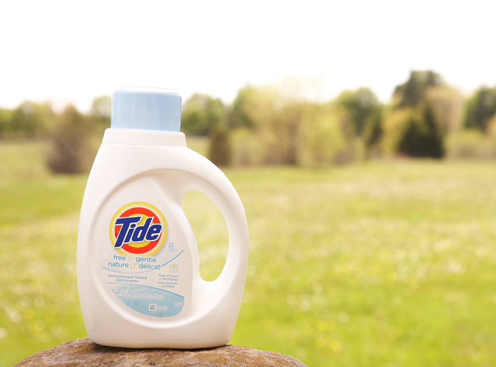 Good Product Photography Example - Tide