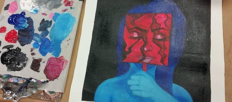 High School Student Artwork