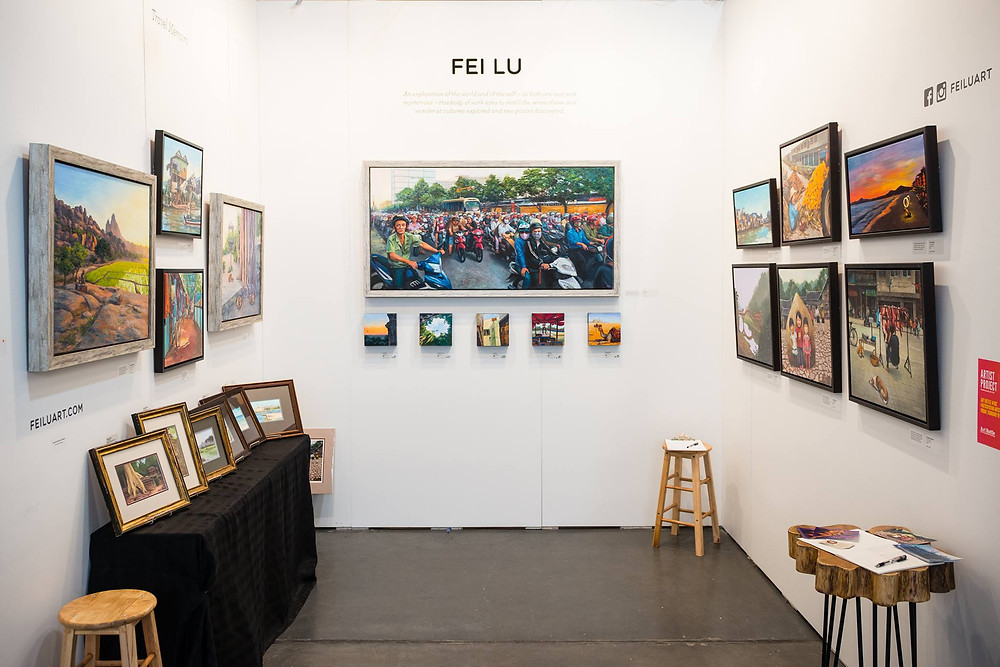 Fei Lu, Travel Memoirs at the Artist Project 2016