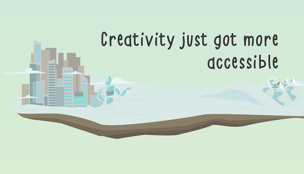 Creativity just got more accessible