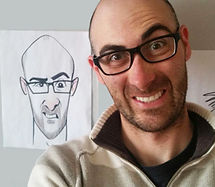 Party-Caricature-Artist-Markham