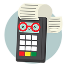 illustation of a payment terminal