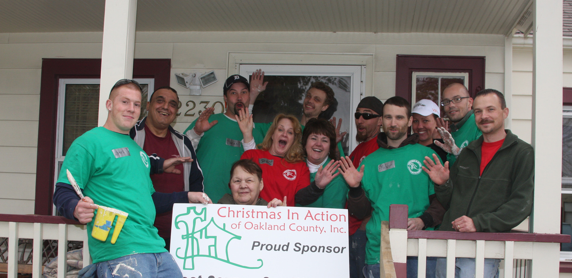 Clement Companies Christmas in Action Team
