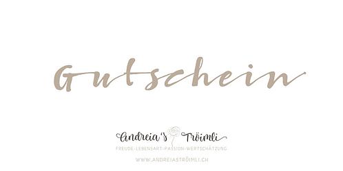 Andreia's Geschenk-Gutschein