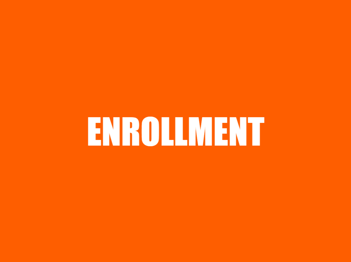 ORANGE - ENROLLMENT