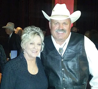 Mike with Connie Smith at Opry