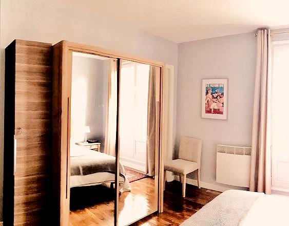 Chambre - Logement de charme - Deauville