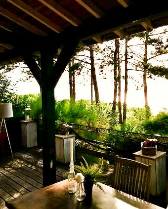 Terrasse - Les Collinettes Trouville Sur