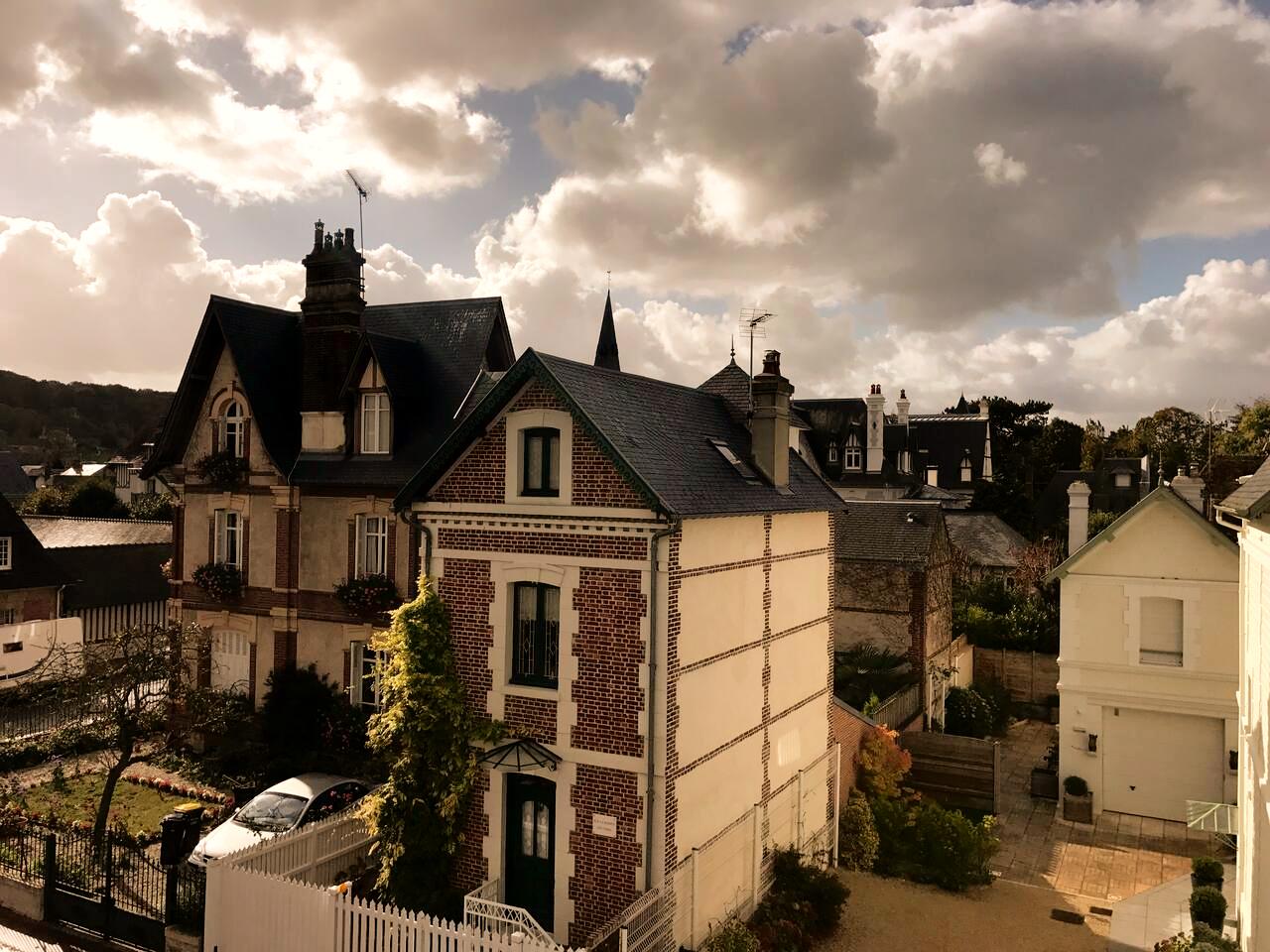 Vue_de_la_fênetre_-_Duplex_Cosy_Deauvill