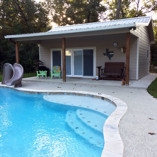 Pool House After