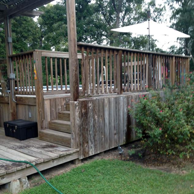 Pool House Before