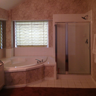 Tub and Shower Before