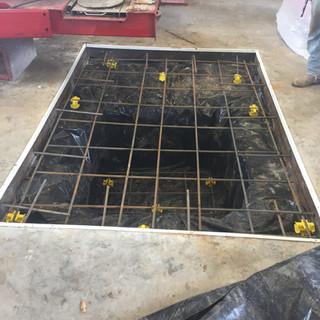 Concrete During