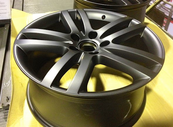 Audi Wheel Matt Black