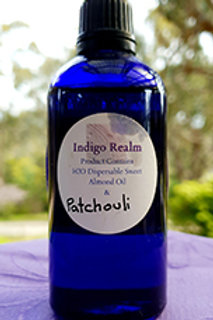 Patchouli Massage Oil.