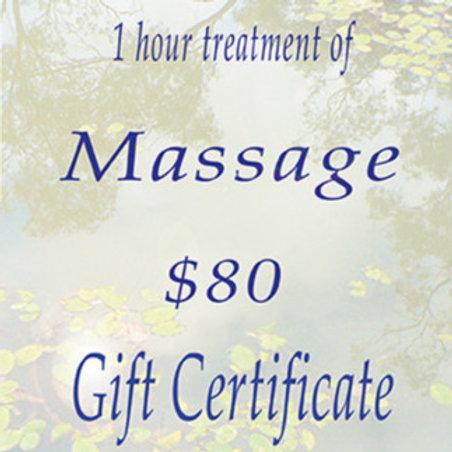 Indigo Realm Gift Voucher Massage