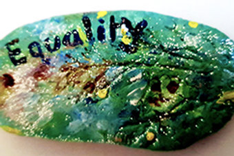 The Aromatherapy Affirmation Stone Equality