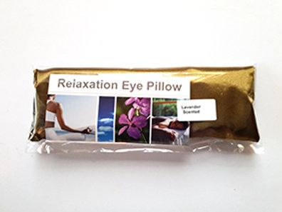Relaxation Eye Pillow Bright Gold.
