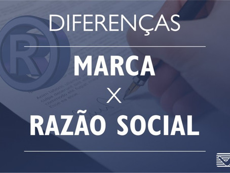 As diferenças entre a Razão social, Nome Fantasia, Domínio de internet e Marca