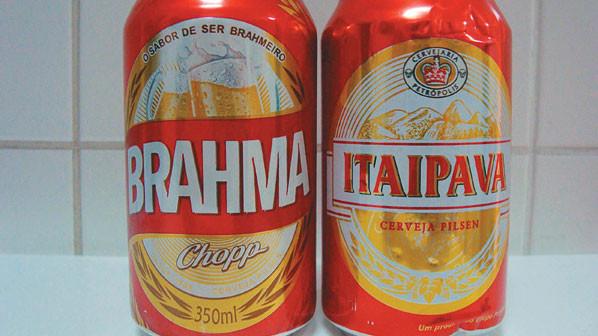 BRAHMA X ITAIPAVA
