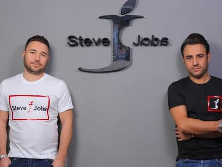 A marca Steve Jobs