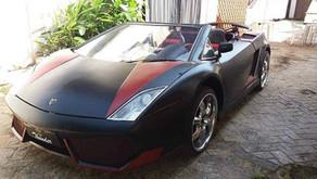 Cópia de Lamborghini feita sobre Chevette tem patente negada