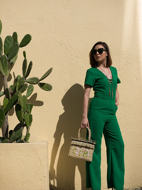 Jamaica Palm Jumpsuit