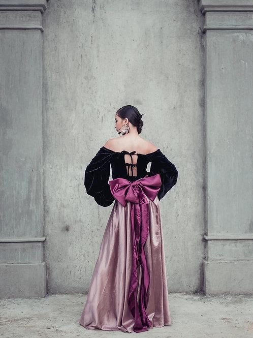 Valentina Bow Maxi Skirt