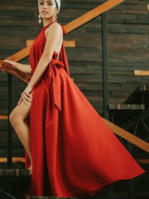Sunset Maxi Wrap Skirt