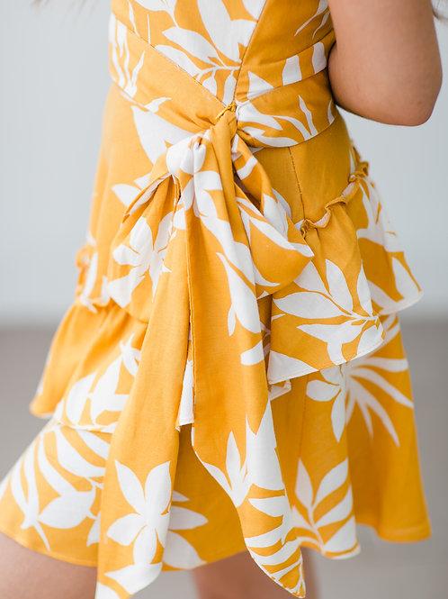 Baha Linen Skirt