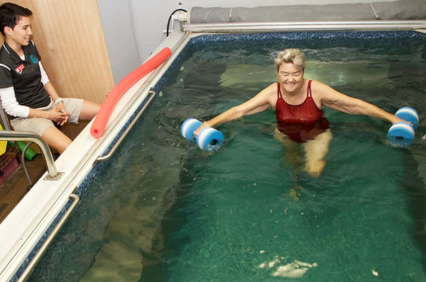 Elam Sports Physical Therapy Clinic Pool