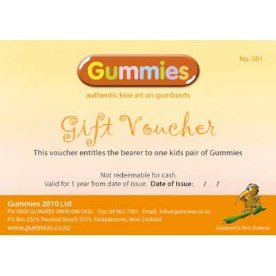 Gummies Gift Voucher