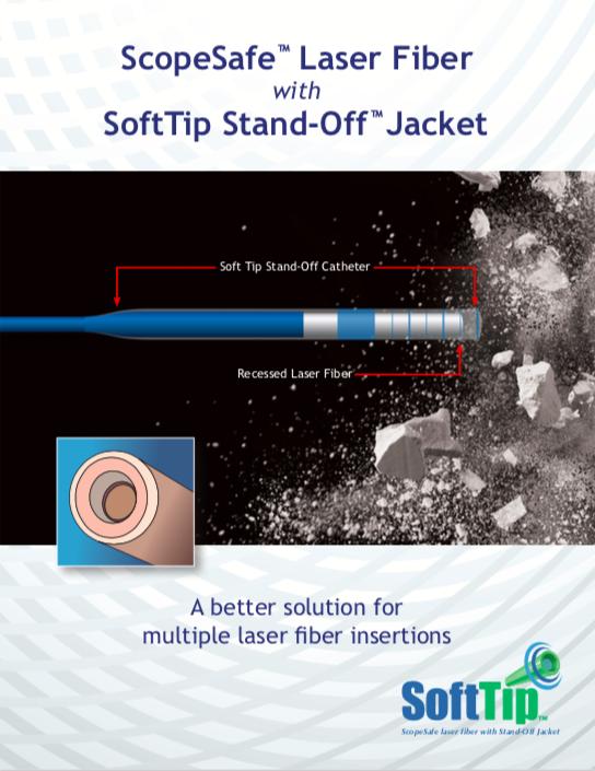 ScopeSafe Laser Fiber with SoftTip Brochure