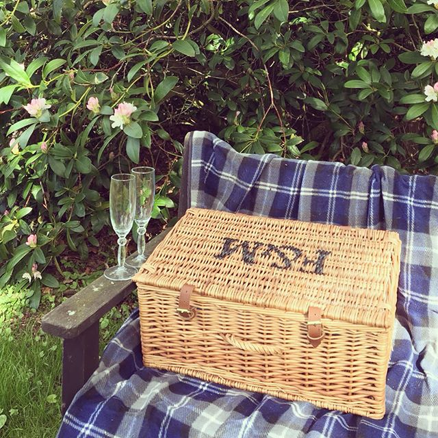 When the sun shines  it's picnic time! Treat yourself to one of our 'Posh' Picnics and enjoy the bea