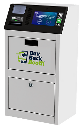 BuyBack Booth phone diagnostic kiosk