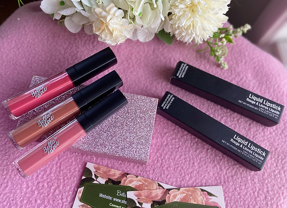 Doce Lippies (liquid matte lipsticks)