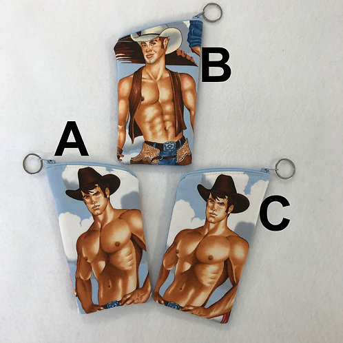 Cowboy sunglass pouch