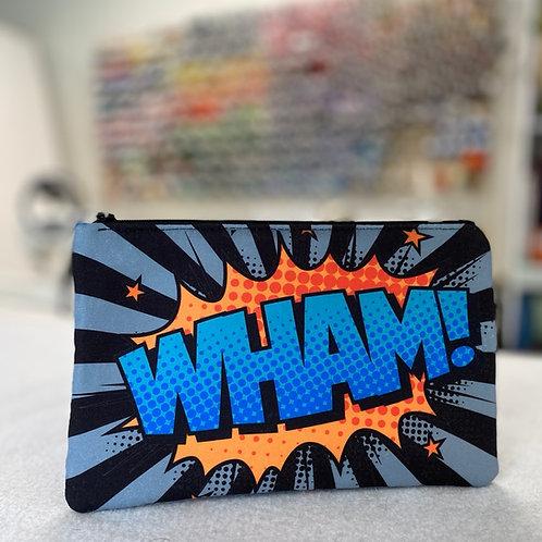 Wham Bam Comic Style Zipper Bag