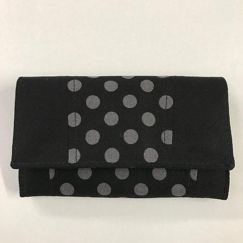 Polka Dot Accordion Wallet