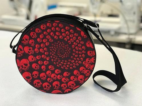 Skullfinity Roundabout Cross Body Bag Red