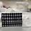 Thumbnail: Harlequin print snap wallet