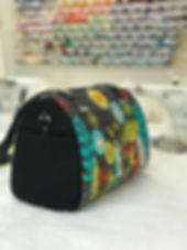 flower print purse
