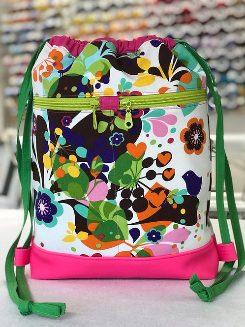 Drawstring Backpack Spring Fever