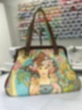 Companion Carpet Bag Mucha Goddess strap