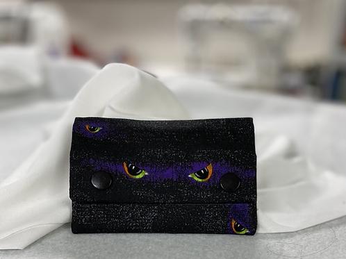 Monster Eyes snap wallet