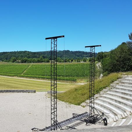 Auf Lesereise im Amphitheater