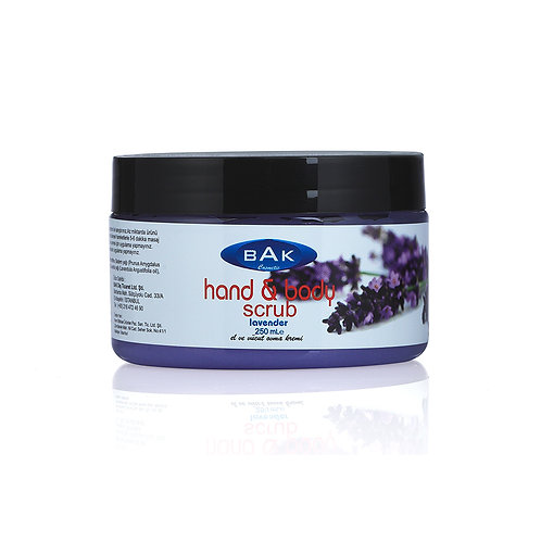 BAK CREAM SCRUB LAVANDER 250 ML