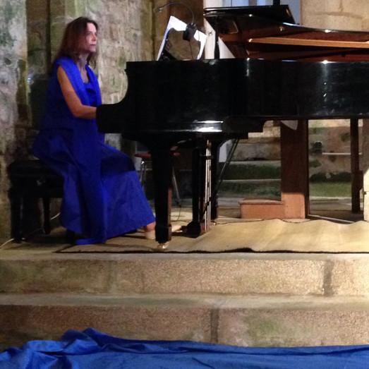 Sylvia Renrard au Pinao