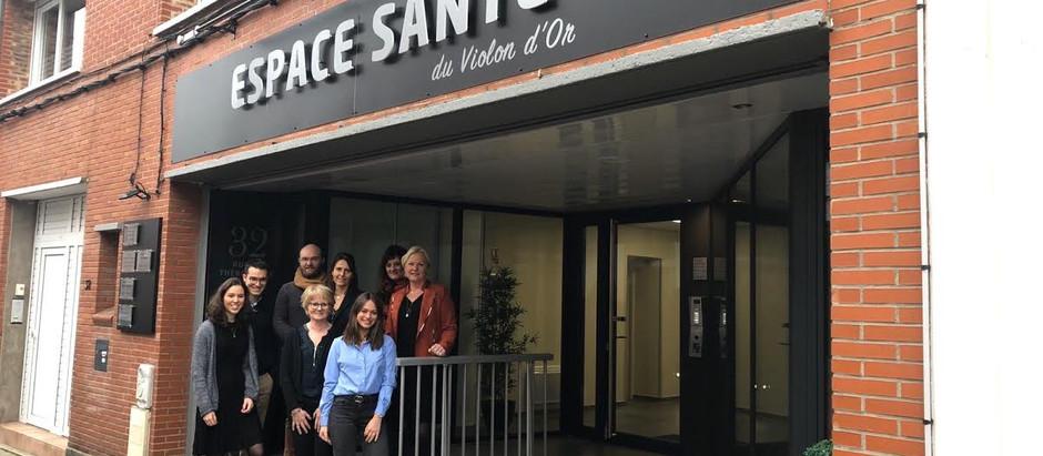 L'équipe de l'espace santé du Violon d'Or à Hazebrouck s'agrandit :