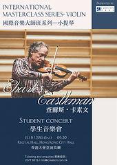 Charles Castleman Concert poster 2015080